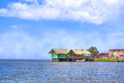 Photograph - The Shores Of Lake Nicaragua - San Carlos Port by Mark E Tisdale