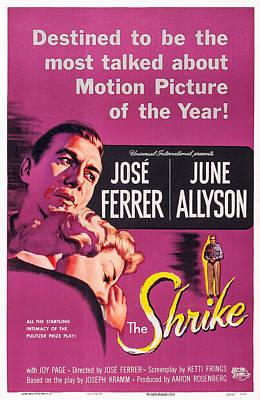 The Shrike, L-r Jose Ferrer, June Art Print by Everett