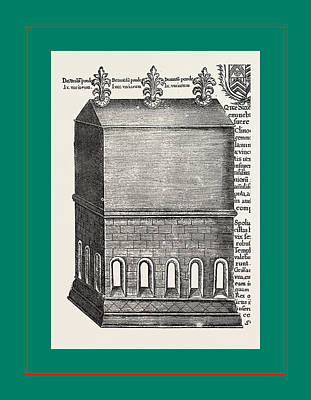 Thomas Becket Drawing - The Shrine And Bones Of St. Thomas A Becket by English School