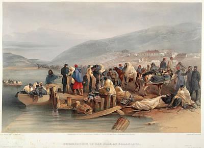 The Sick At Balaclava Print by British Library