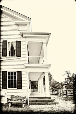 The Side Of The House Art Print by Margie Hurwich