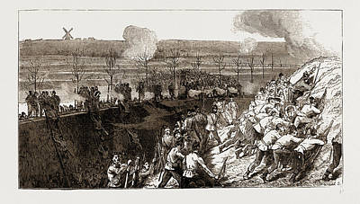The Siege Operations At Chatham Art Print