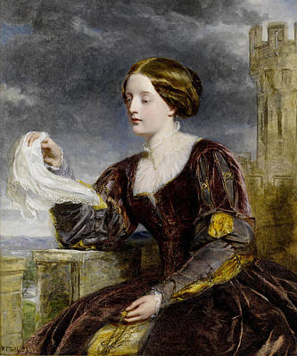 The Signal Art Print by William Powell Frith