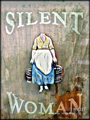 The Silent Woman Art Print by Steven Digman