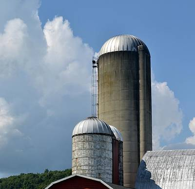 Photograph - The Silo by Michael Sokalski