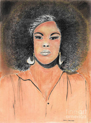 Pastel - The Singer by David Jackson