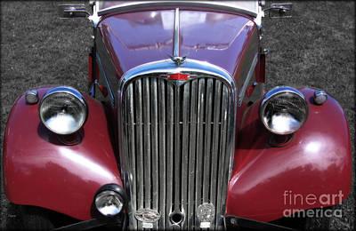 Antique Automobiles Photograph - The Singer Machine  by Steven Digman
