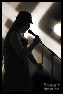 Photograph - The Singer 1003.01 by M K  Miller