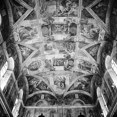 Photograph - The Sistine Chapel by Emanuel Tanjala