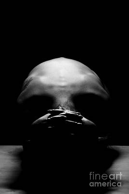 Photograph - The Skull by Gunnar Orn Arnason