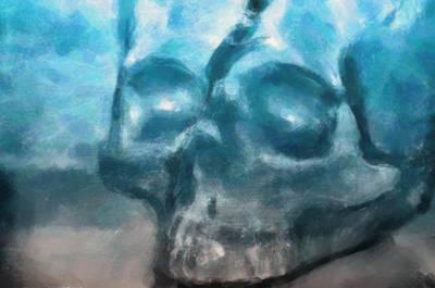 The Skull Art Print by Tommytechno Sweden