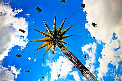 By Colleen Kammerer Photograph - The Sky Flyer by Colleen Kammerer