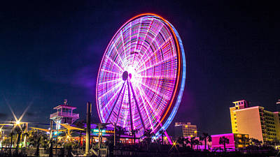 The Skywheel Art Print