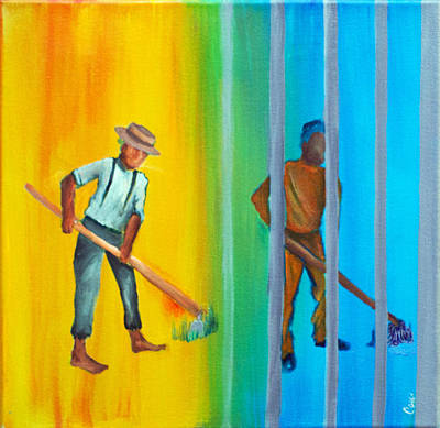 The Slave Went Free The New Jim Crow Original by Candi Rose