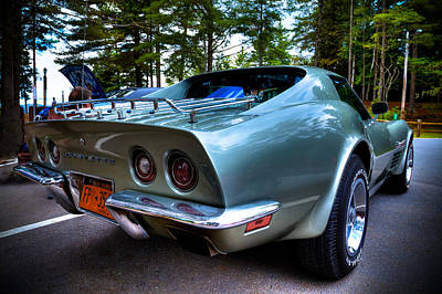 Photograph - The Sleek 1972 Corvette Stingray by David Patterson