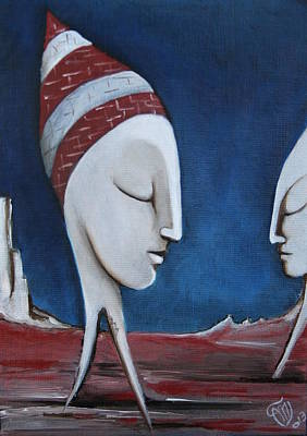 Painting - The Sleepers  by Simona  Mereu