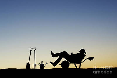 Cup Of Tea Photograph - The Sleeping Gardener by Tim Gainey