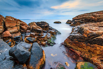 Narragansett Photograph - The Slot by Bryan Bzdula