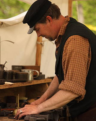 Photograph - The Smith At Work by Coby Cooper