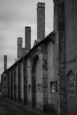 Wall Art - Photograph - The Smokestacks by Scott Hafer