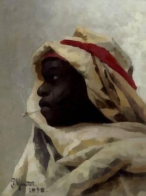 The Smoking Moor Art Print
