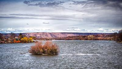 The Snake River Near Hagerman Idaho Art Print