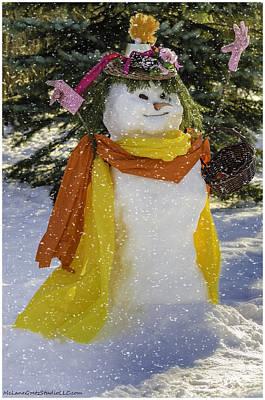 December Photograph - The Snow Queen by LeeAnn McLaneGoetz McLaneGoetzStudioLLCcom