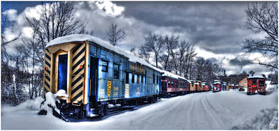 Photograph - The Snow Train by Wayne King