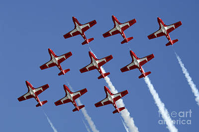 Photograph - The Snowbirds Keeping It Tight by Bob Christopher