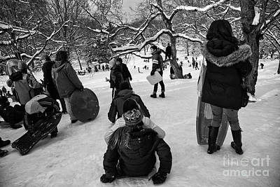 Snowboarder Photograph - The Snowboarders by Madeline Ellis