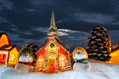 Photograph - The Snowdens At Church by David Arment