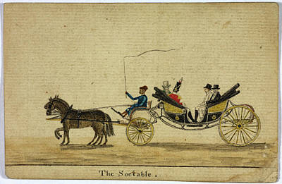 The Sociable Art Print by British Library