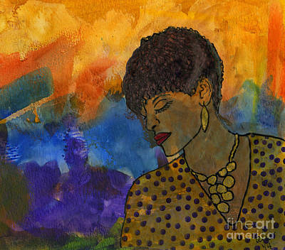 Painting - The Solitude Of My Experience by Angela L Walker