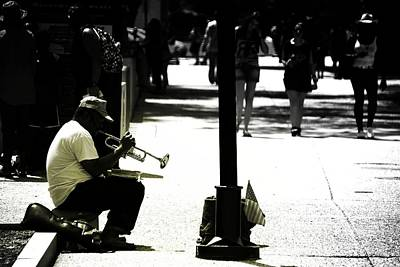 Saxophone Photograph - The Soloist by Jonas Luis