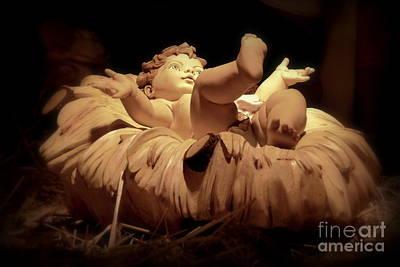 Manger Scene Digital Art - The Son Of Mary by Rev Richard W Burdett