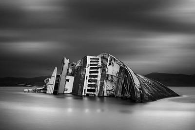 Shipwreck Wall Art - Photograph - The Song Of The Sirens by Chris Vasiliadis