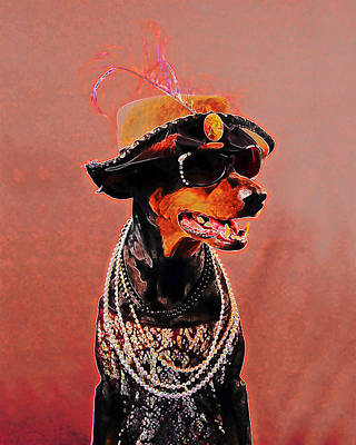 Dobe Photograph - The Sophisticated Dobe by Brian Graybill