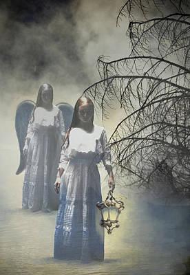 Maureen Digital Art - The Soul Bringer by Maureen Tillman