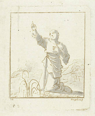 Soul Art Drawing - The Soul Is Pointing To The Sky, Ernst Willem Jan Bagelaar by Quint Lox