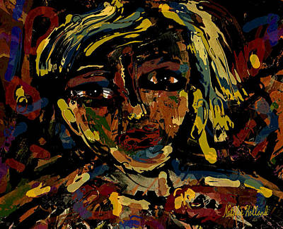 Painter Mixed Media - The Soul by Natalie Holland