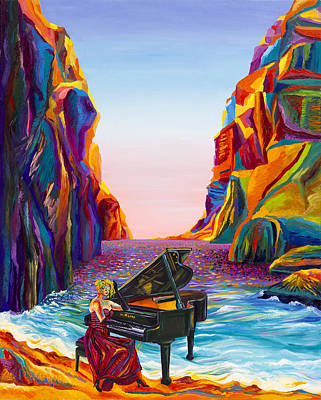 Moshe Painting - The  Sound  Of  Nature by Moshe Rosental