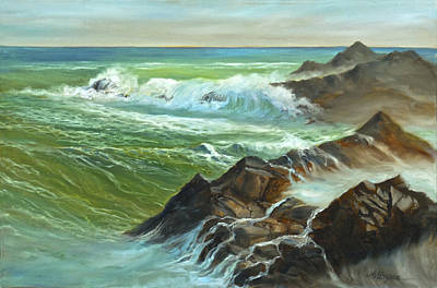 The Sound Of Surf Art Print