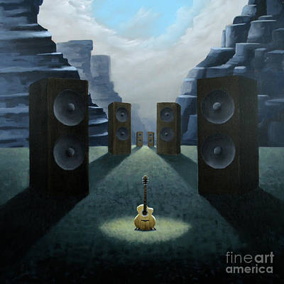 Painting - The Soundgarden by Ric Nagualero