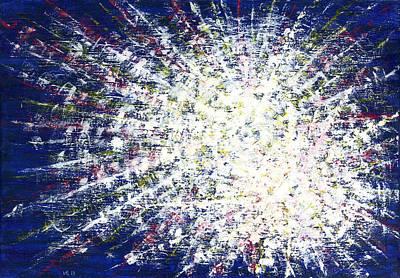 Inner World Painting - The Source by Irina Viatkina