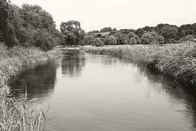 Photograph - The South Downs Water Meadows by Steven Poulton