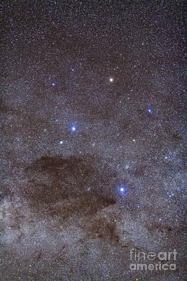 The Southern Cross And Coalsack Nebula Art Print