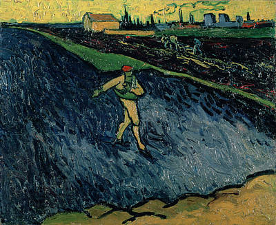 The Sower Art Print by Vincent van Gogh
