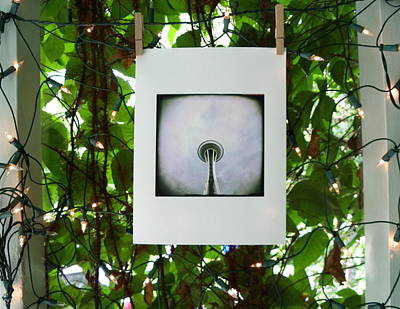 Photograph - The Space Needle by Sharon Popek
