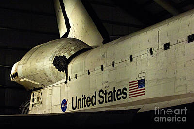 The Space Shuttle Endeavour 12 Art Print