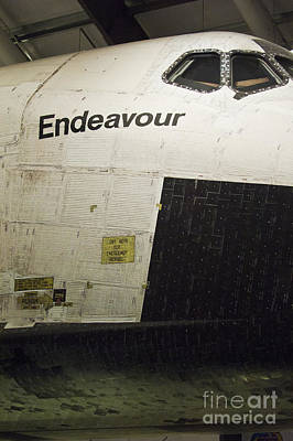 The Space Shuttle Endeavour 13 Art Print